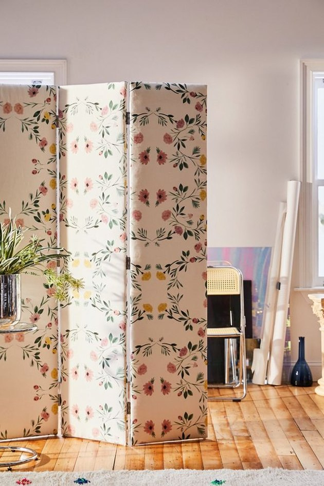 Printed Room Screen Divider, $499