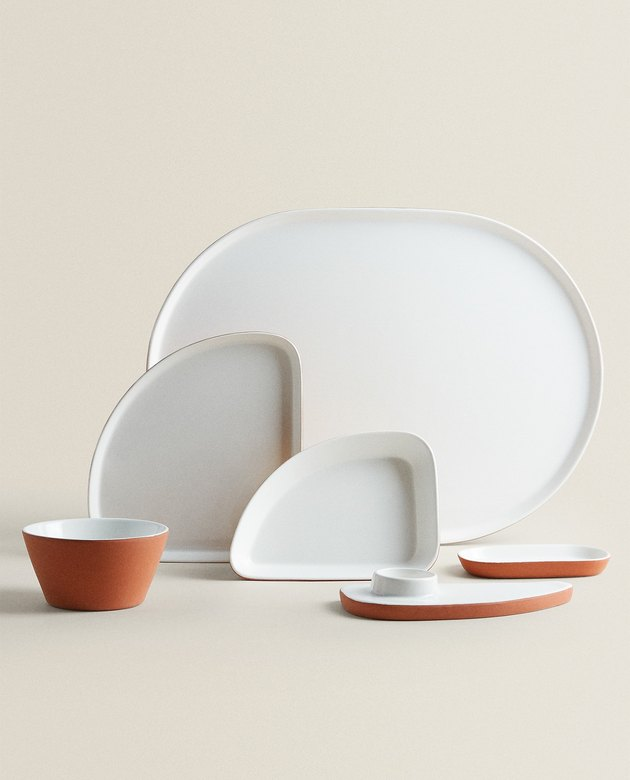 Zara Home terracotta tableware collection
