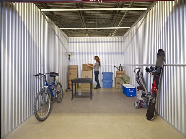 Large storage unit.