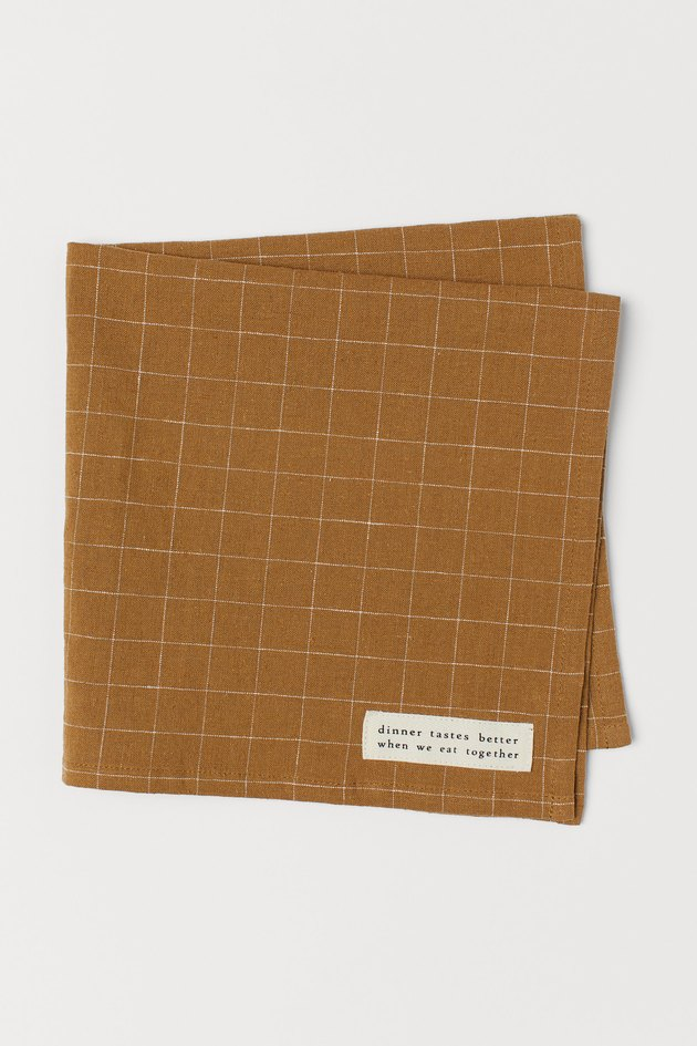 H&M Home Linen-blend Napkin