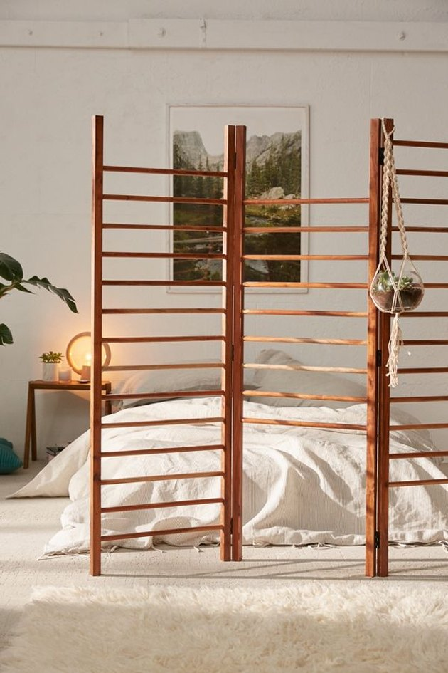 Luciana Ladder Storage Room Divider Screen, $229
