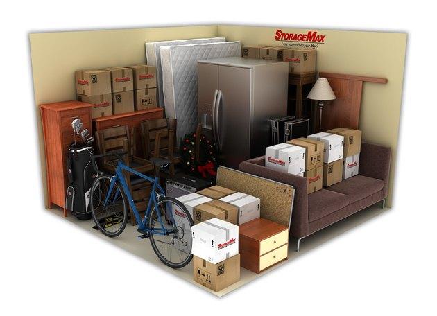 Items in 10 x 10-foot storage unit
