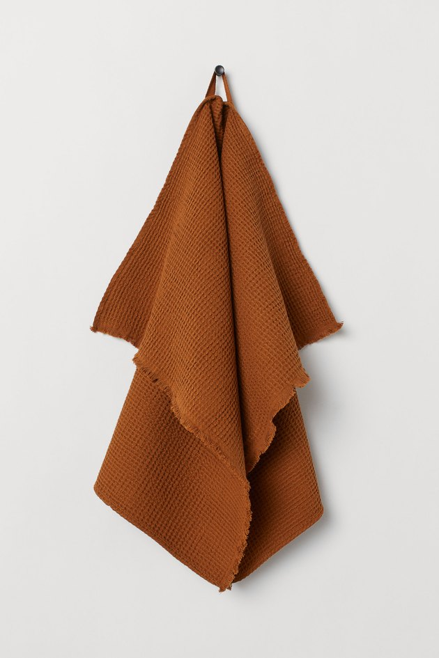 H&M waffled hand towel