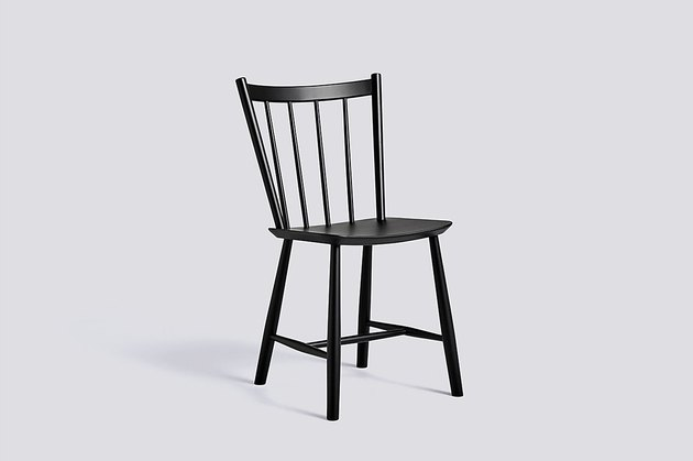 hay black dining chair