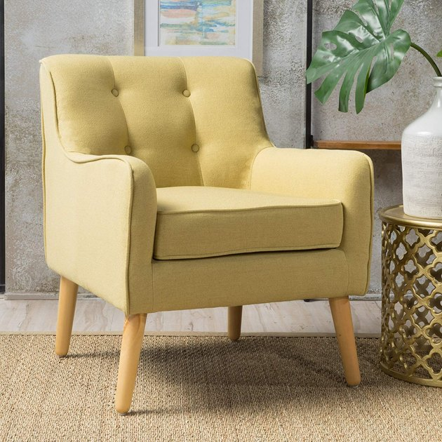 christopher knight home fabric arm chair