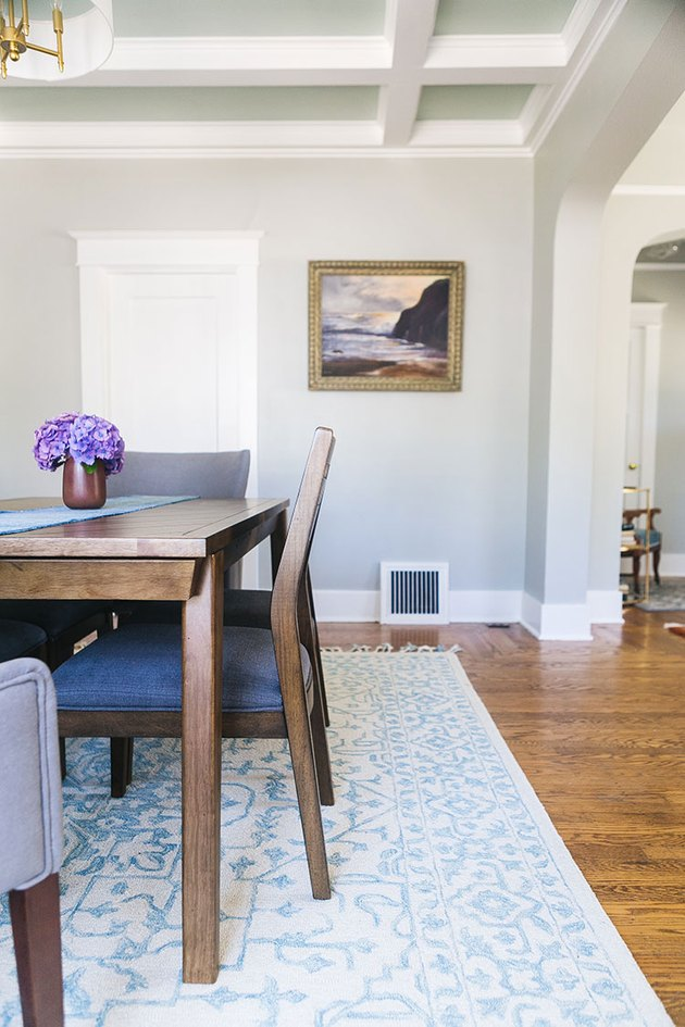 Craftsman Interior Paint Color Inspiration for dining room