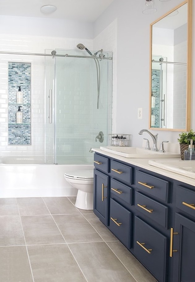 7 Glass Tile Bathroom Ideas Worthy Of Your Quot Dream Home