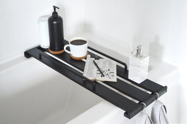 Turn IKEA decor into a bathtub tray