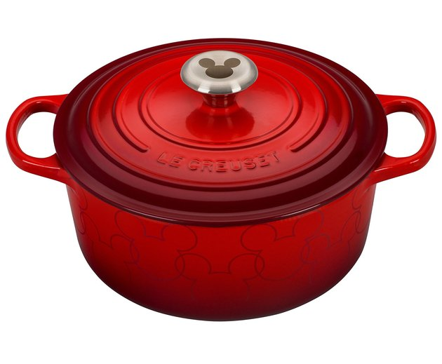 Le Creuset Mickey Mouse Round Dutch Oven, $350