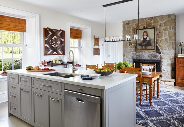 Vintage and modern transitional kitchen ideas