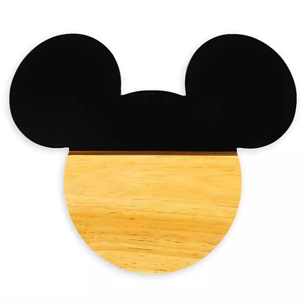 Mickey Mouse Silhouette Cheese Board, $29.99