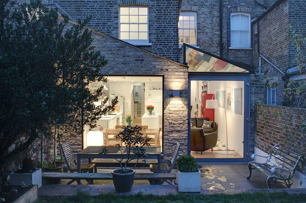 over 100-year-old Victorian home in London gets a modern upgrade