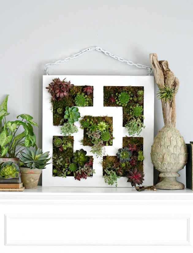 Turn IKEA decor into a vertical garden