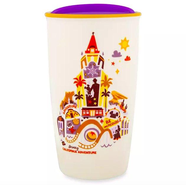 Disney California Adventure Collage Starbucks Ceramic Travel Tumbler, $24.99