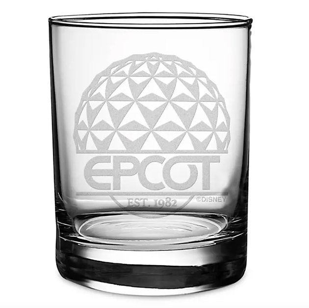 Epcot Glass by Arribas, $14