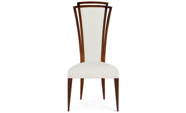 high back art deco chair from Christopher Guy