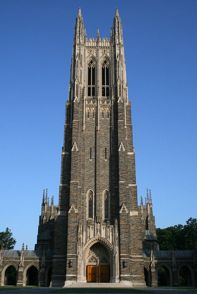 Duke University Campus designed by Black architect Julian Abele