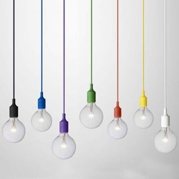 industrial Edison bulb pendant light decorative accent