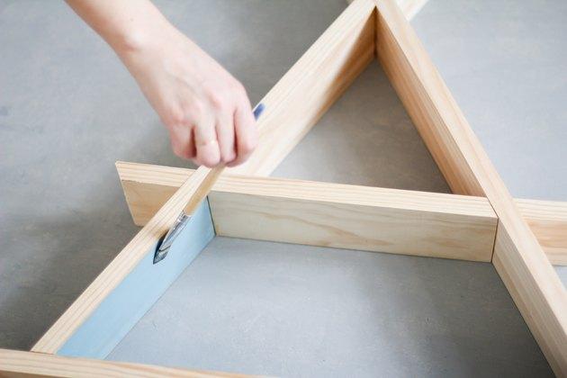 Painting the shelf