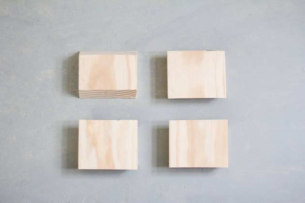Four 3-inch boards