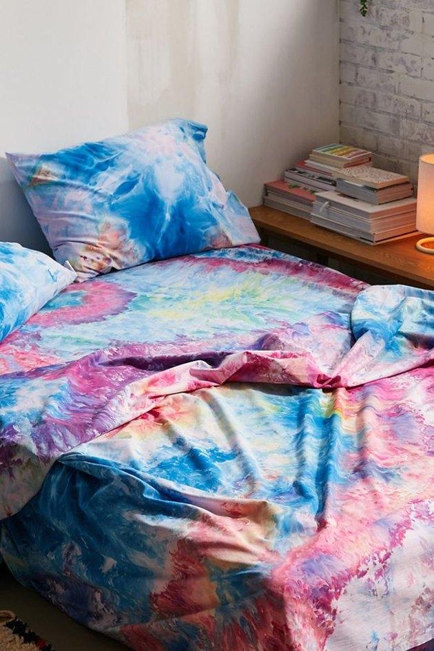 tie dye bed sheets