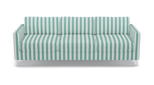 The Inside Jade Stripe Modern Sofa, $1,599