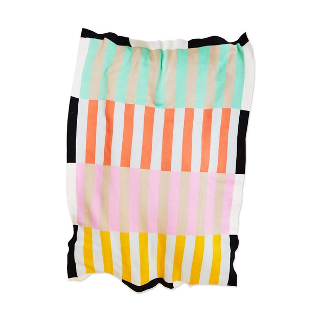 Dusen Dusen Stripe Throw, $180