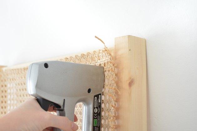 DIY Cane Headboard