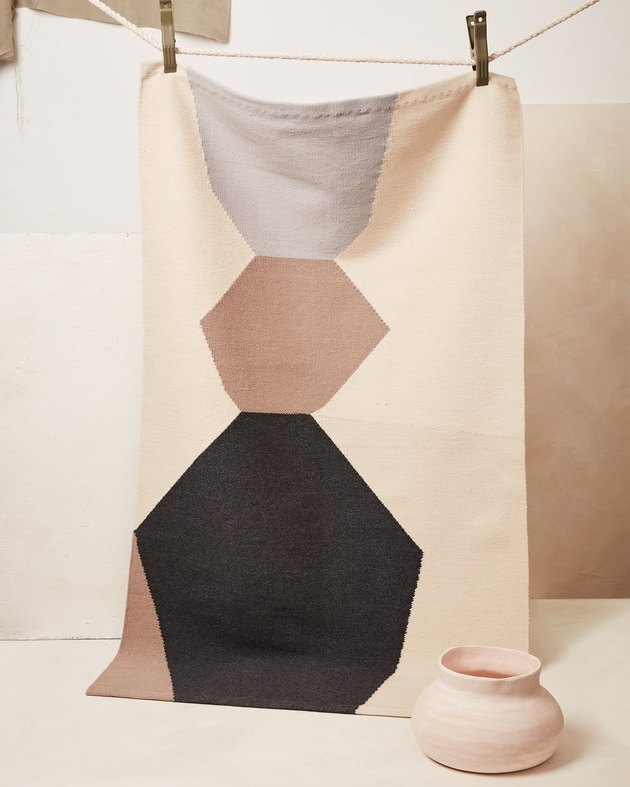 artisanal handwoven rug