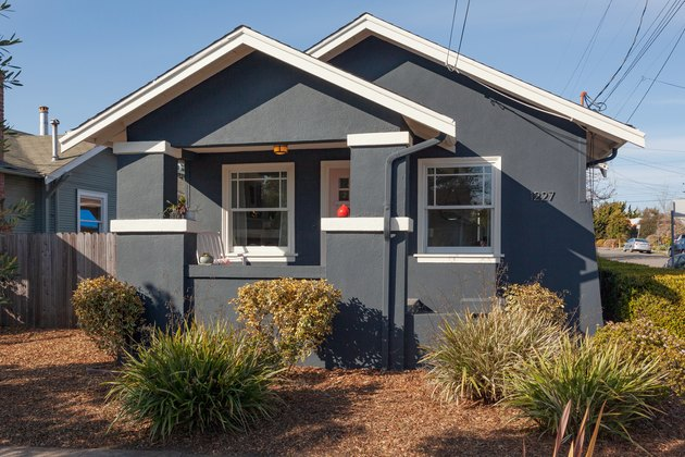 exterior photo of craftsman style house