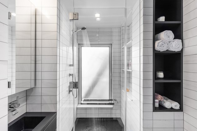 well-designed bathroom for a small space