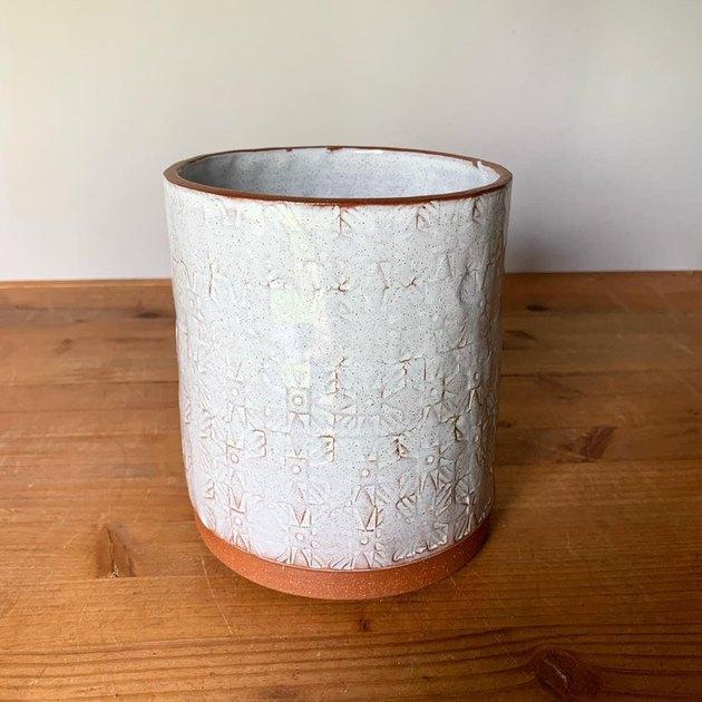 ceramic piece with pattern