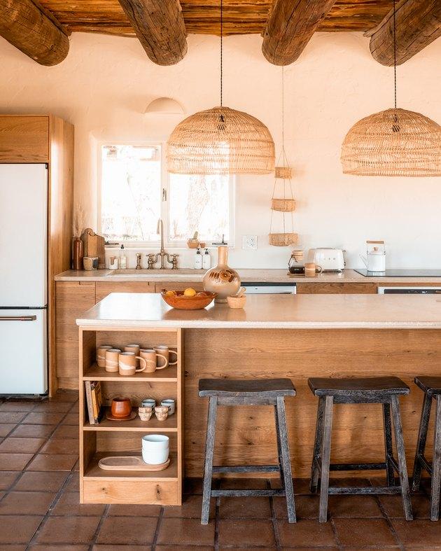 Posada by Joshua Tree House kitchen