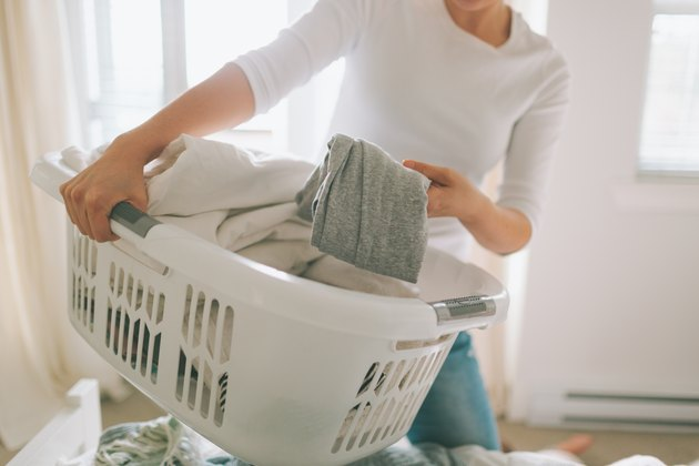 woman doing laundry amazon sale