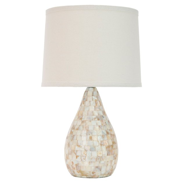safavieh shell table lamp