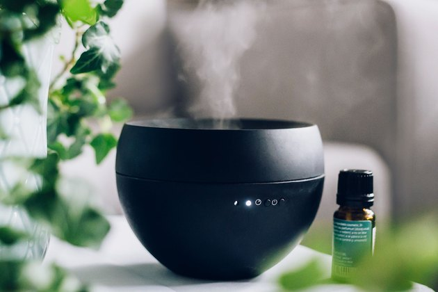 Black essential oil diffuser