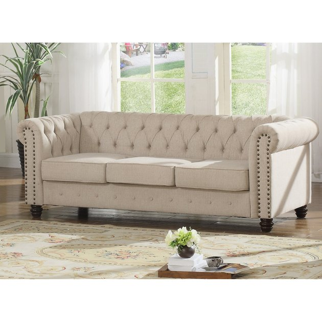 hayneedle venice upholstered sofa