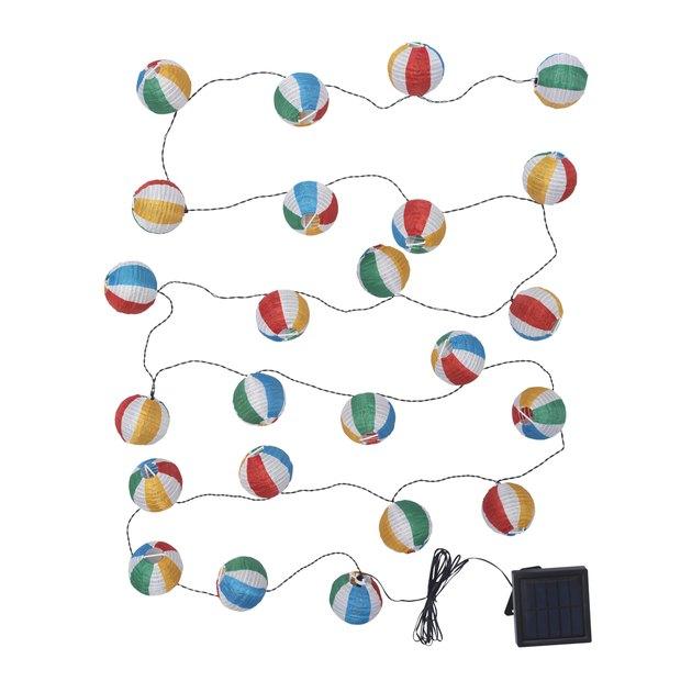 beach ball string lights