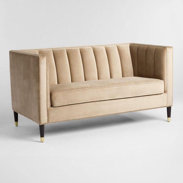 world market tufted love seat