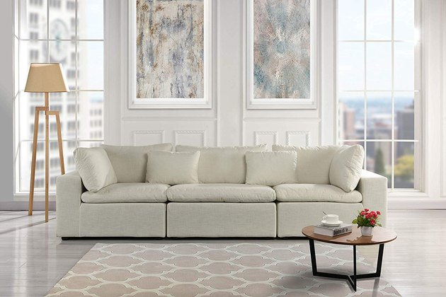 amazon large classic couch