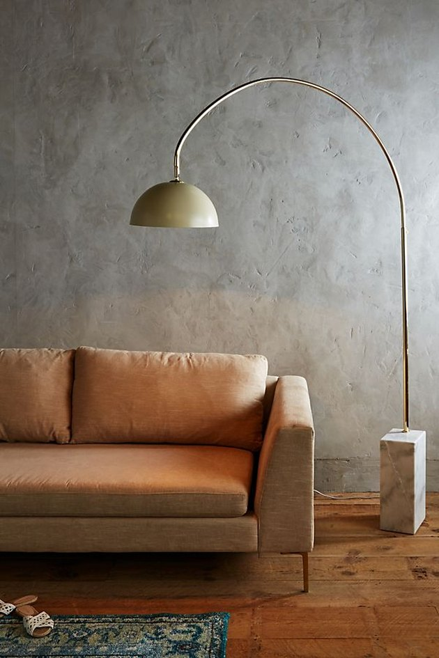 anthropologie winding course floor lamp