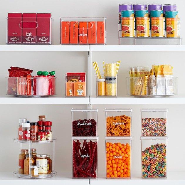 minimalist pantry storage