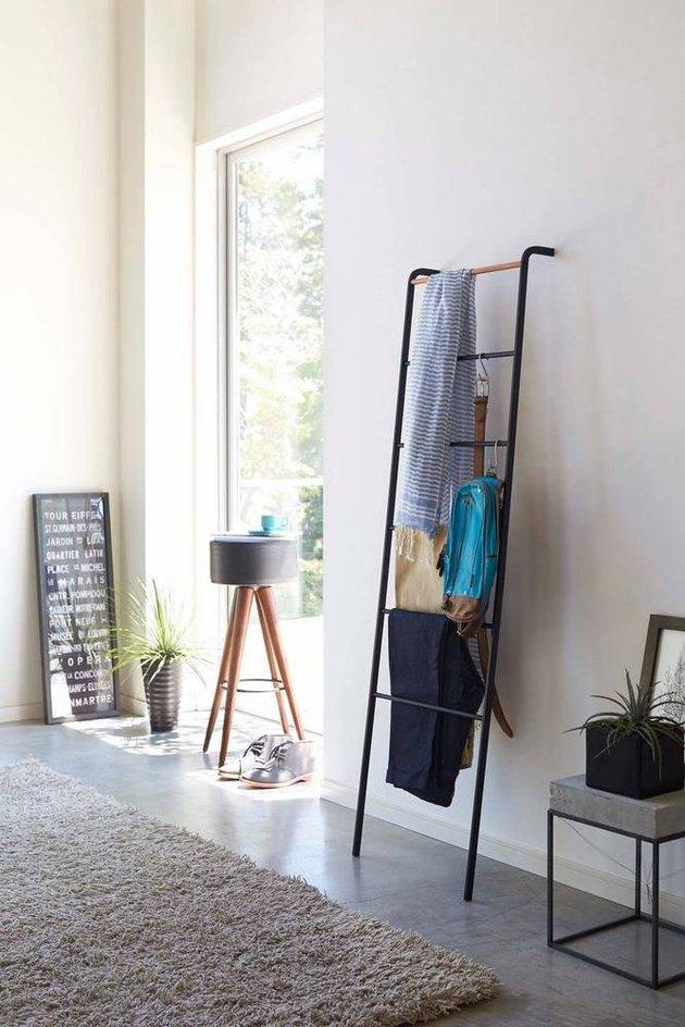 modern blanket rack