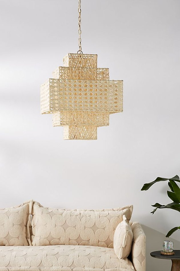 anthropologie leandra chandelier