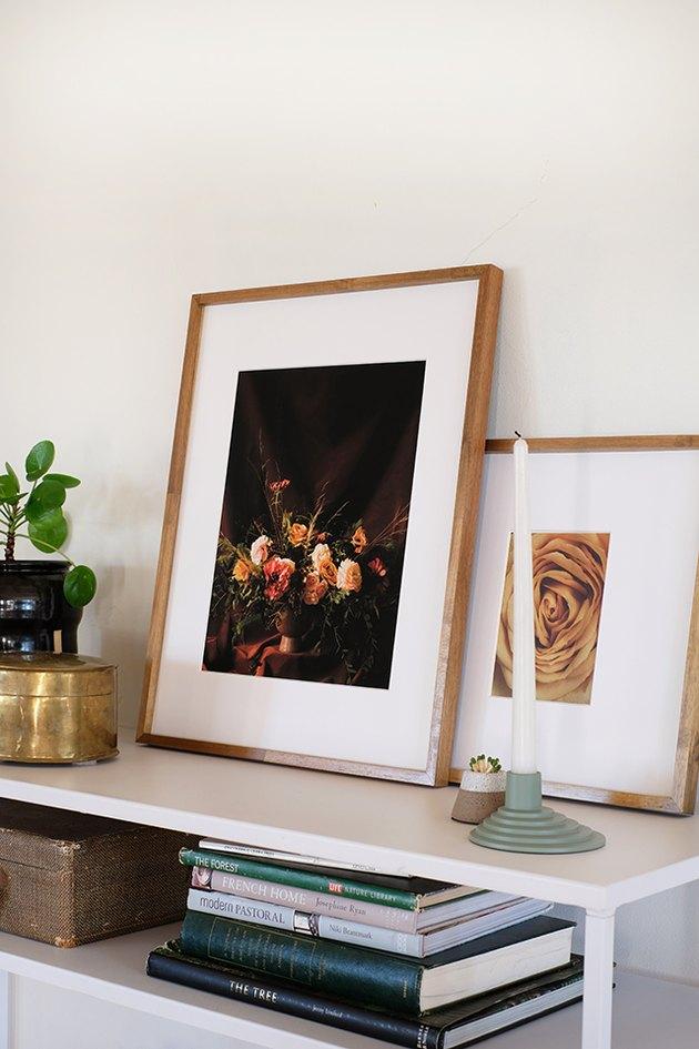 Free printable floral prints.