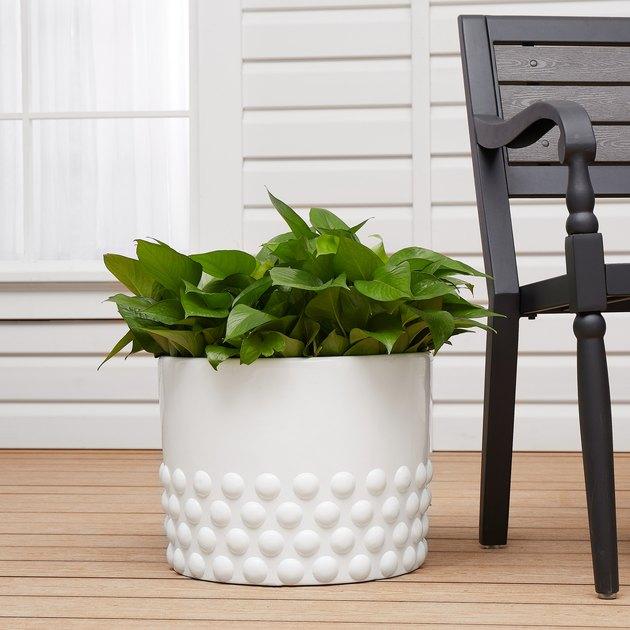better home and gardens la paz floor planter