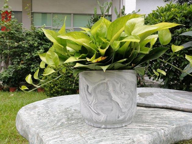 walmart marble planter