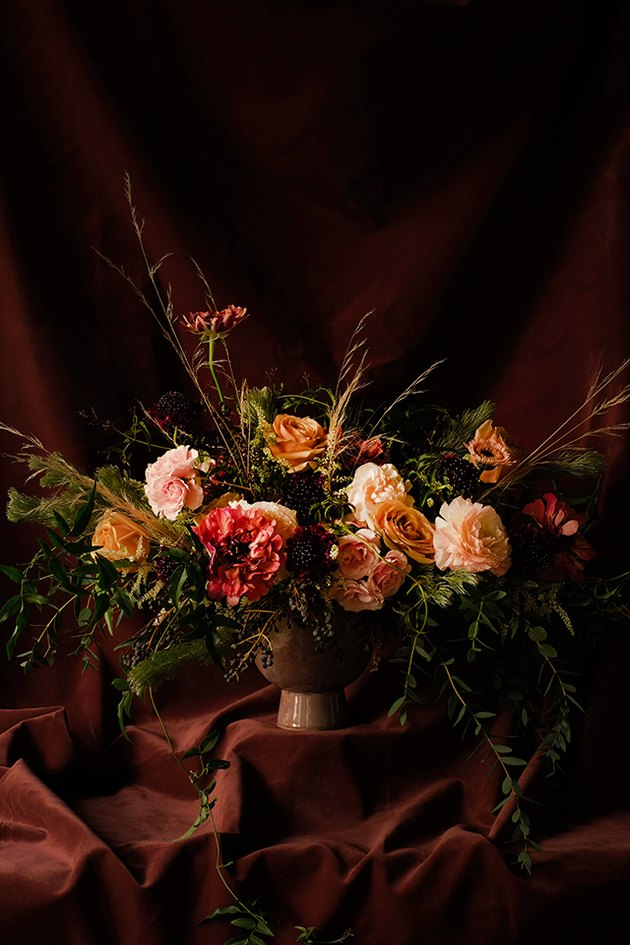 Dutch Masters style floral arrangement.