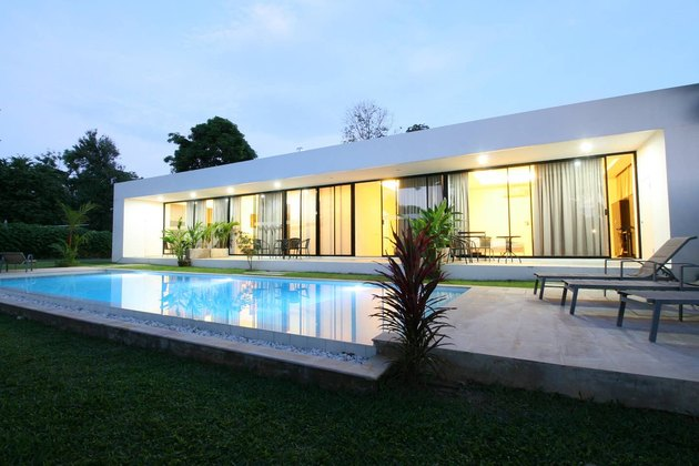 White Pool Villa in Phuket, Thailand