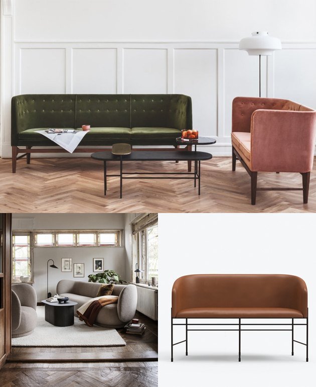 curved sofa trend